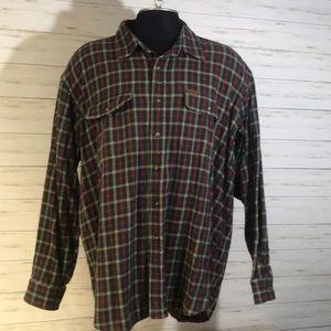 Browning Super Naturals 100% Flannel Shirt Sz XXL